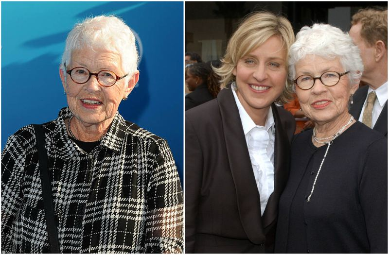 Ellen DeGeneres' family - mother Betty DeGeneres