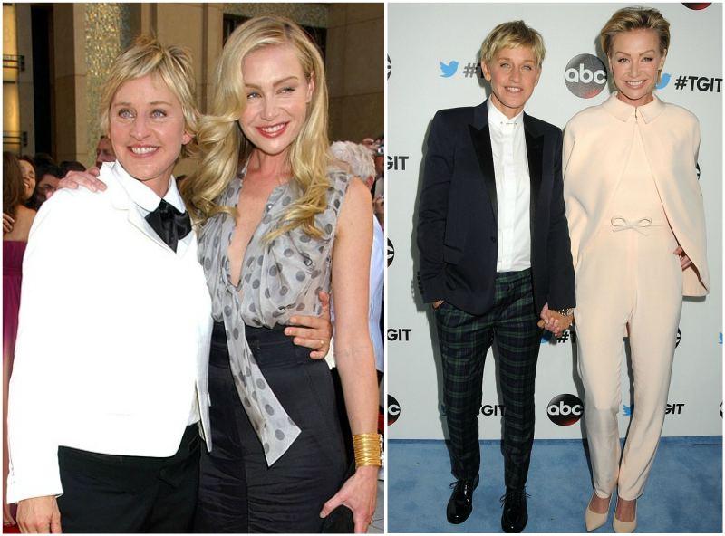 Ellen DeGeneres' family - spouse Portia de Rossi