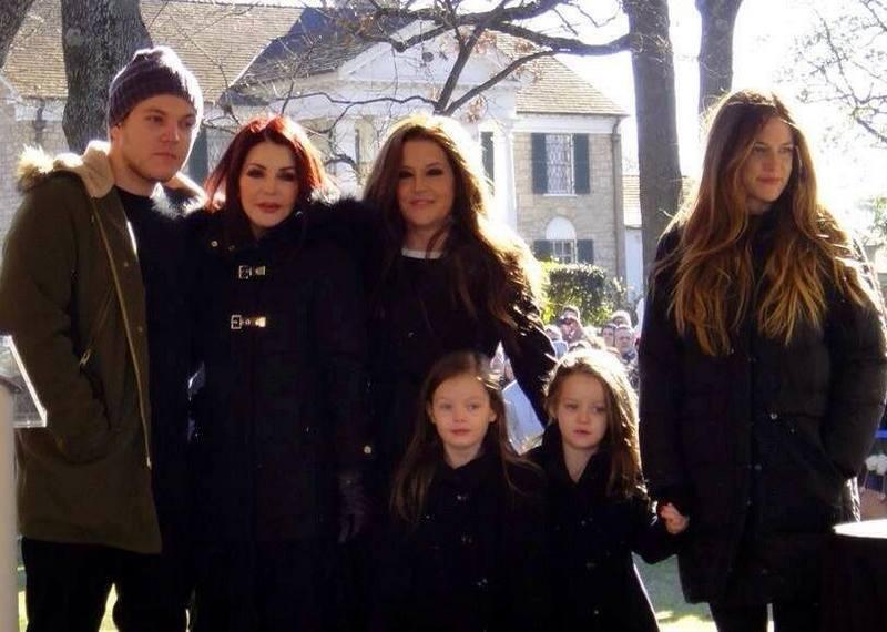 Lisa Marie Presley's family