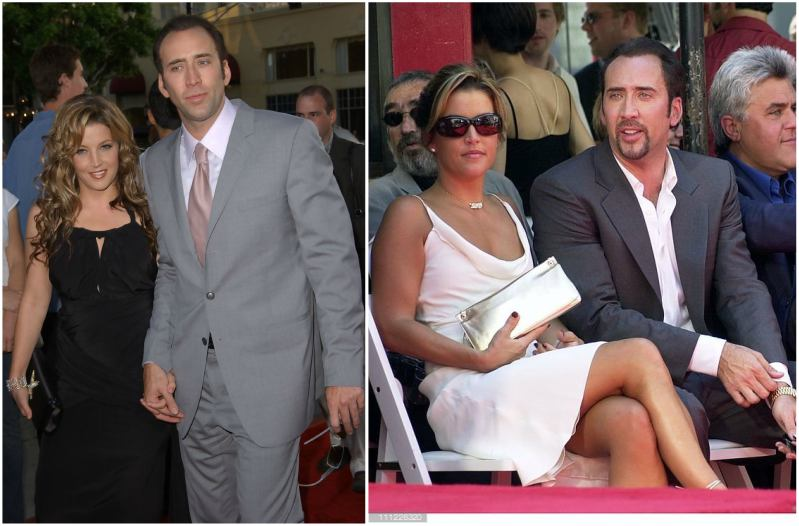 Lisa Marie Presley's family - ex-husband Nicolas Cage