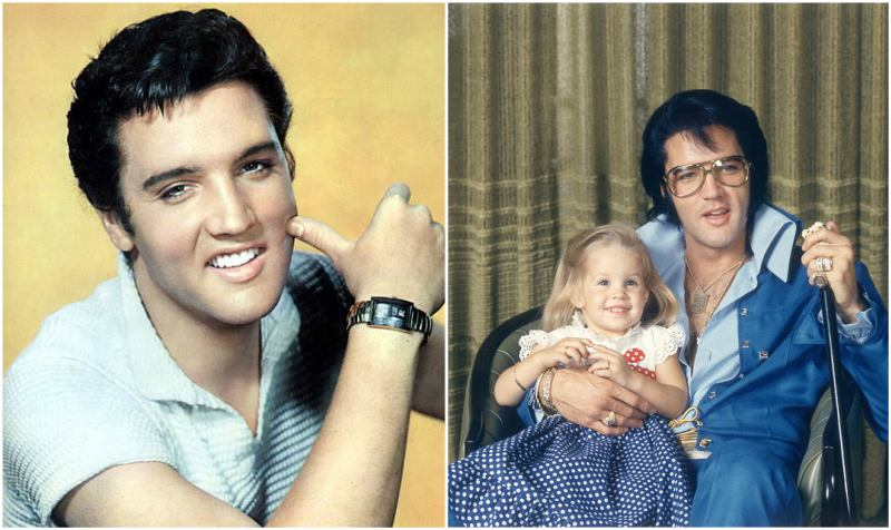 Lisa Marie Presley's family - father Elvis Presley