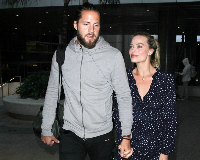 Margot Robbie's family - husband Tom Ackerley