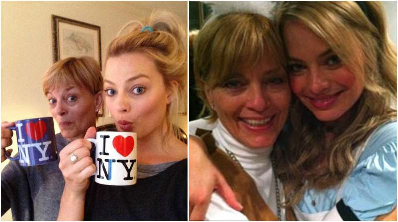 Margot Robbie's family - mother Sarie Kessler