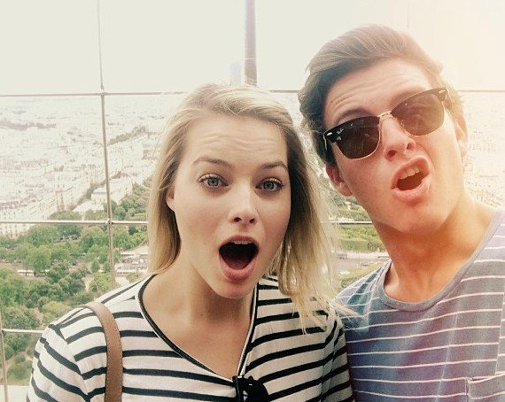 Margot Robbie's siblings - brother Cameron Robbie