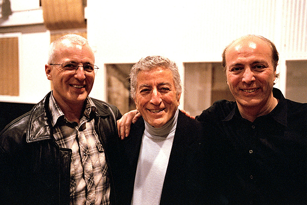 Tony Bennett's children - 2 sons