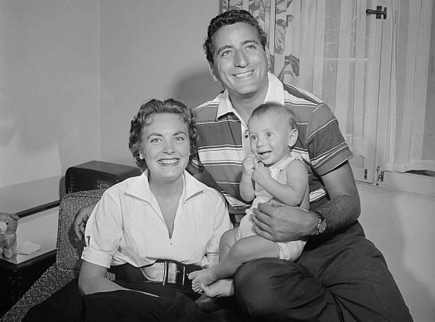 Tony Bennett's family - ex-wife Patricia Beech