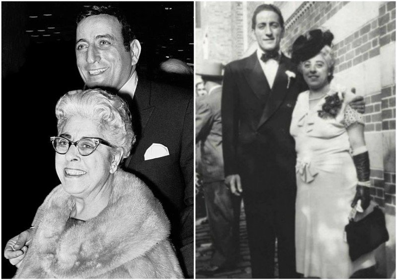 Tony Bennett's family - mother Anna Benedetto