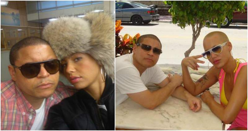 Amber Rose's siblings - brother Antonio Hewlett