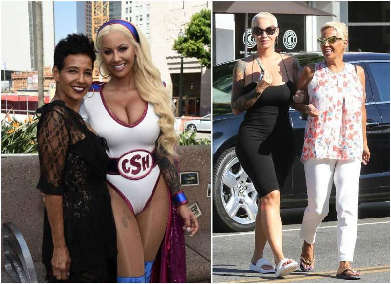 Amber Rose's family - mother Dorothy Rose