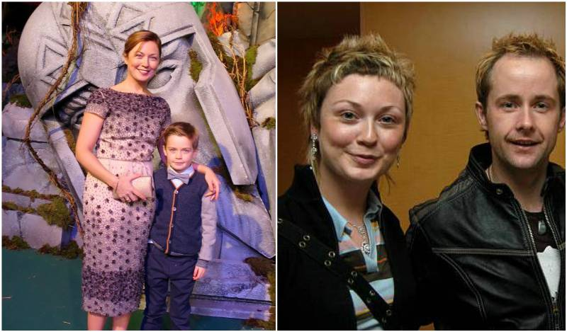 Billy Boyd's family - wife Alison Boyd (nee McKinnon)