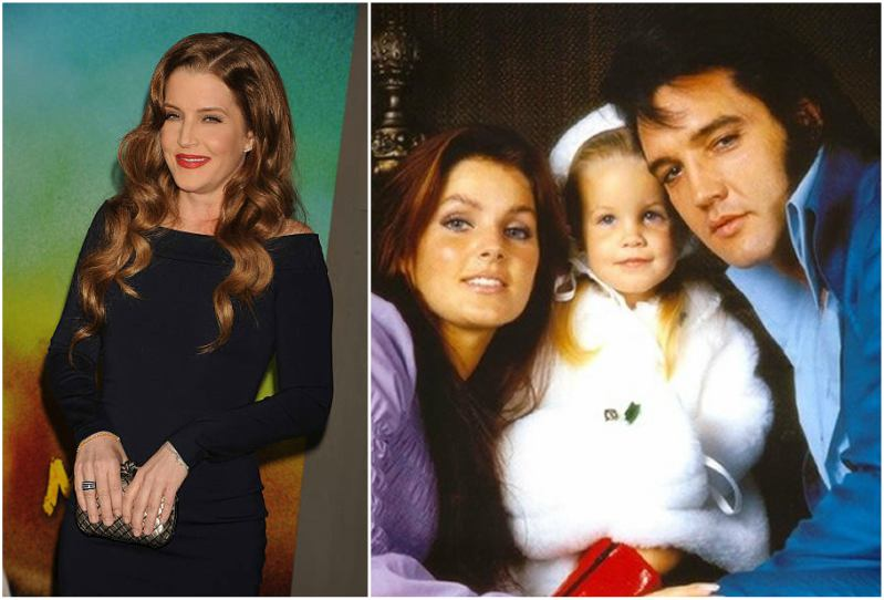 Elvis Presley's children - daughter Lisa Marie Presley