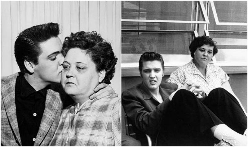 Elvis Presley's family - mother Gladys Love Smith Presley