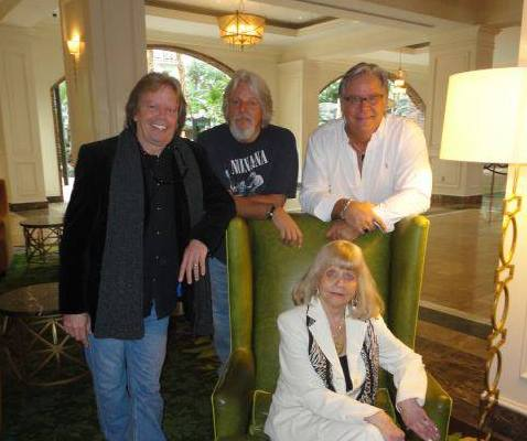 Elvis Presley's siblings - step-brothers Bill Jr., David and Rick Stanley