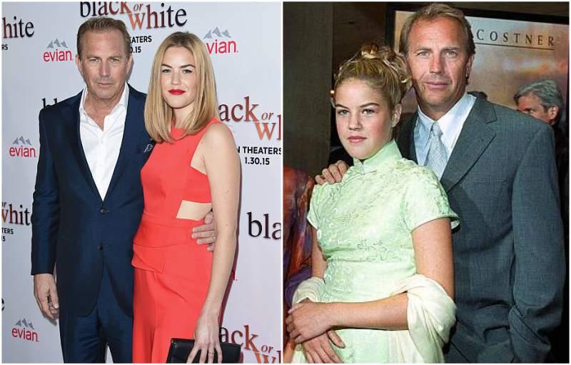 Kevin Costner's children - daughter Lily McCall Costner