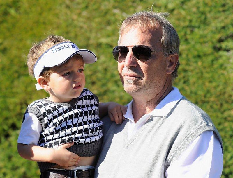 Kevin Costner's children - son Hayes Logan Costner
