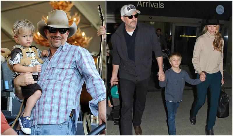 Kevin Costner's children - son Cayden Wyatt Costner