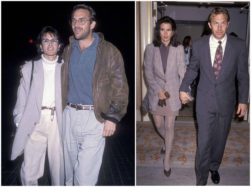 Kevin Costner's family - ex-wife Cindy Silva Costner