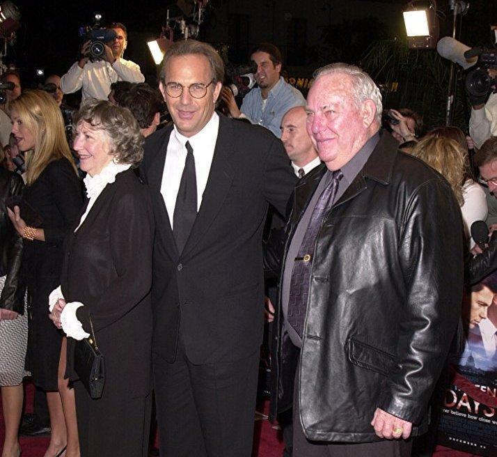 Kevin Costner's family - parents