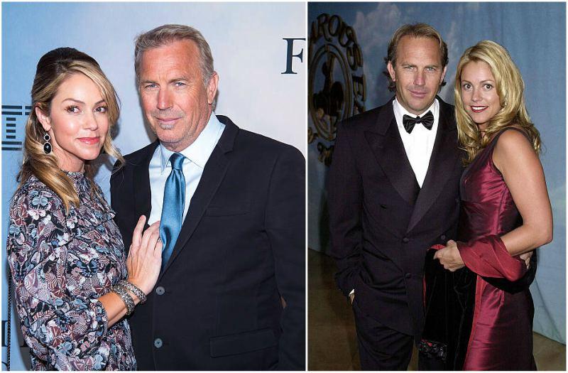 Kevin Costner's family - wife Christine Baumgartner