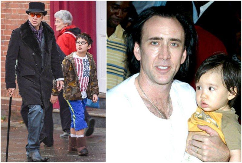 Nicolas Cage's children - son Kal-El Coppola Cage