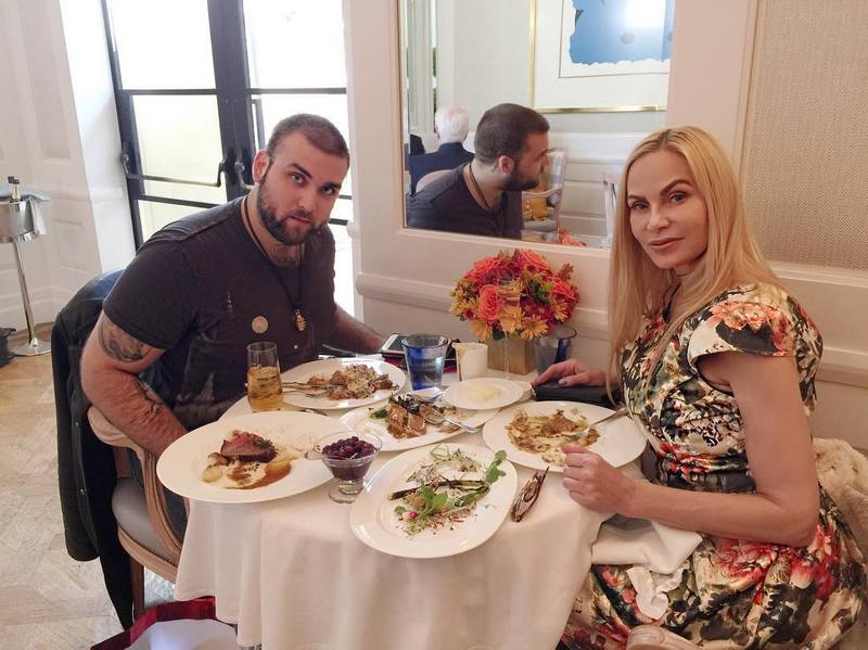 Nicolas Cage's family - ex-partner Christina Fulton