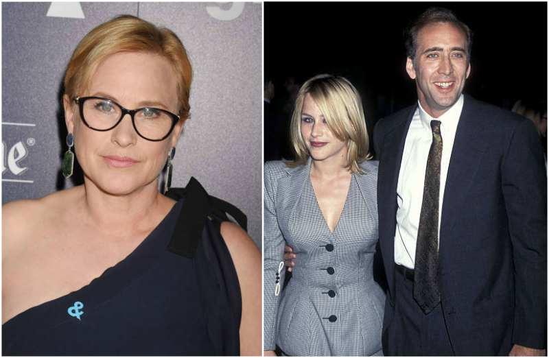 Nicolas Cage's family - ex-wife Patricia Arquette