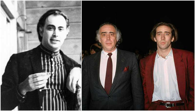 Nicholas Cage's family - father August Coppola