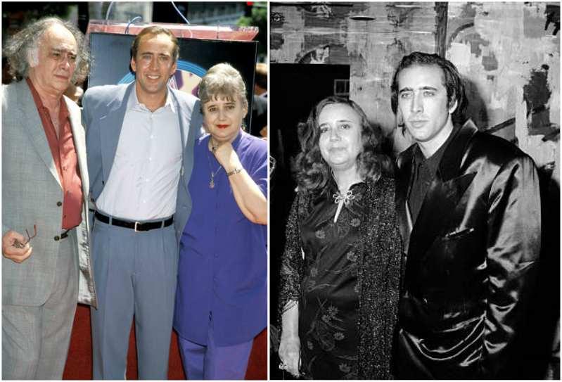 Nicolas Cage's family - mother Joy Coppola (nee Vogelsang)