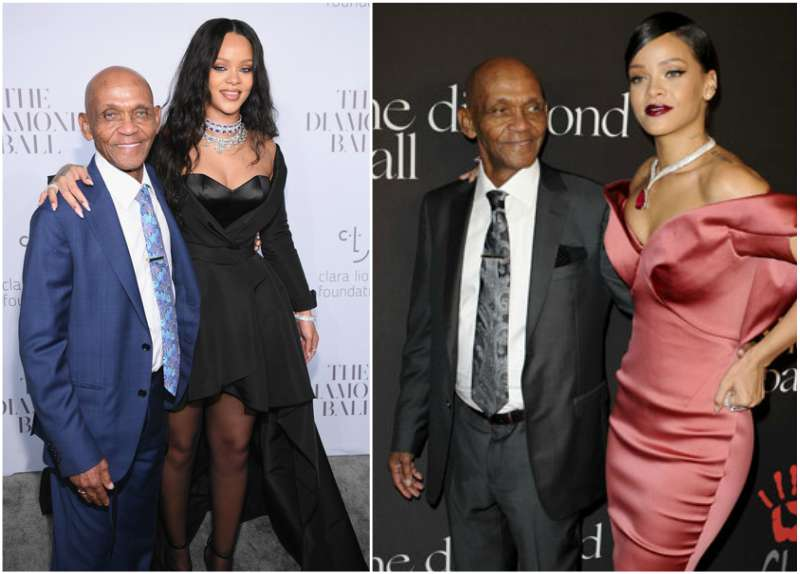 "Rihanna's family - maternal grandfather Lionel ""Bravo"" Braithwaite"