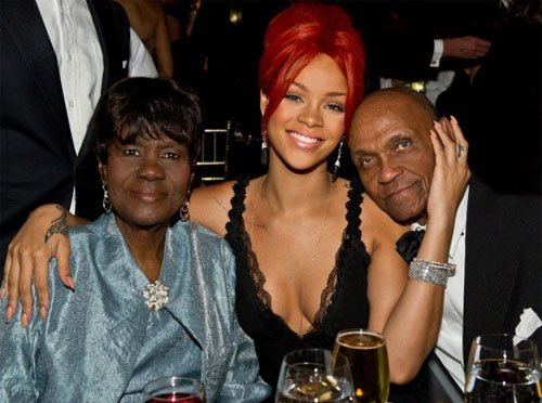 Rihanna's family - maternal grandparents