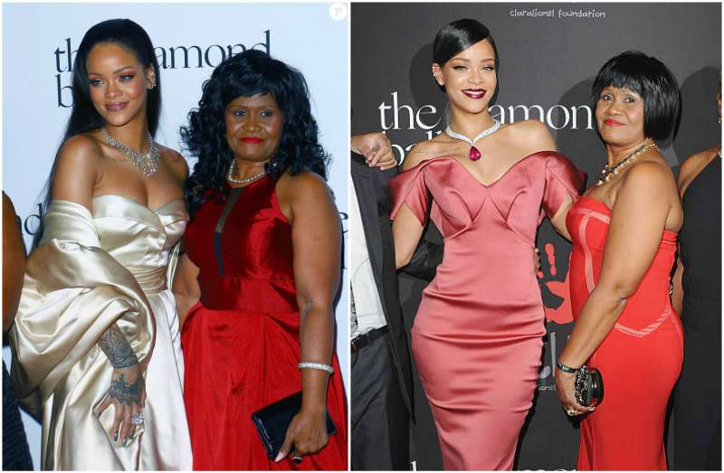 Rihanna's family - mother Monica Braithwaite