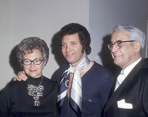 Tom Jones' family - parents
