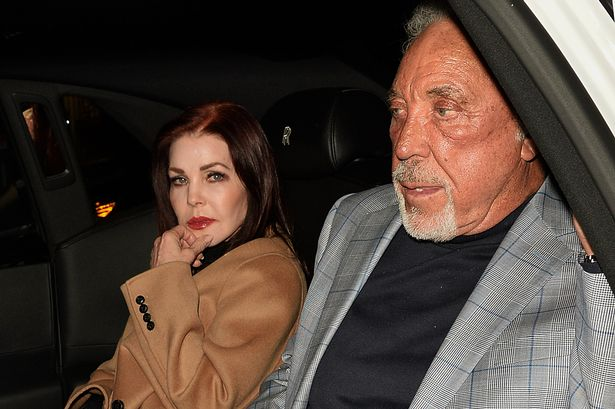 Tom Jones and Priscilla Presley