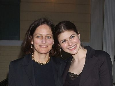 Alexandra Daddario's family - mother Christina Maria Titus