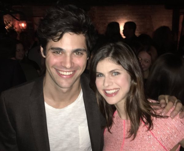 Alexandra Daddario's siblings - brother Matthew Daddario