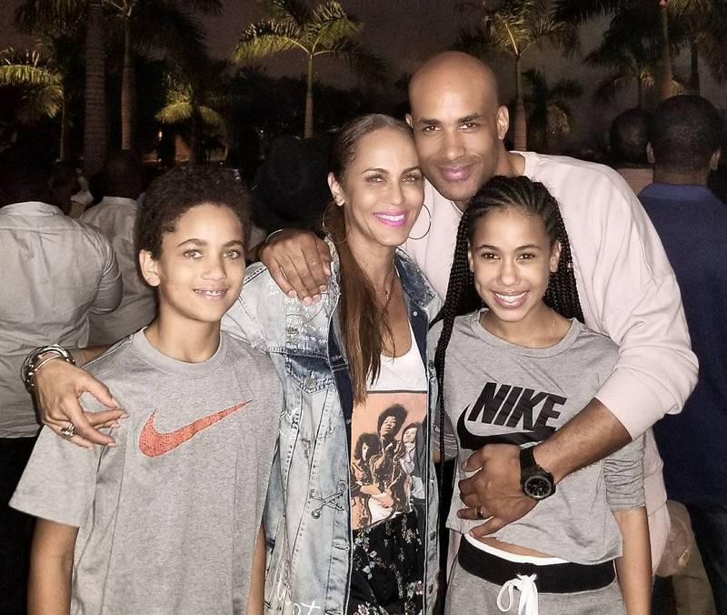 Boris Kodjoe's family