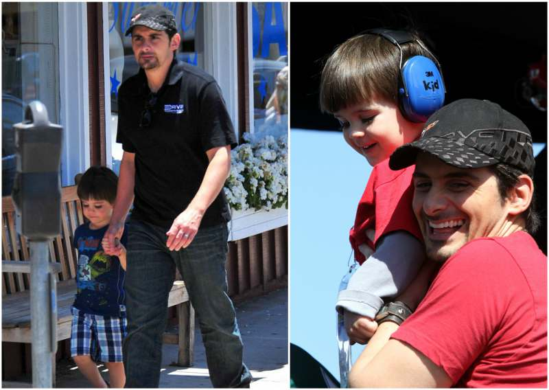 "Brad Paisley's children - son William ""Huck"" Huckleberry Paisley"