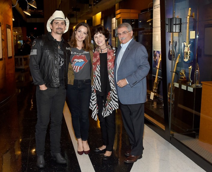 Brad Paisley's family - parents