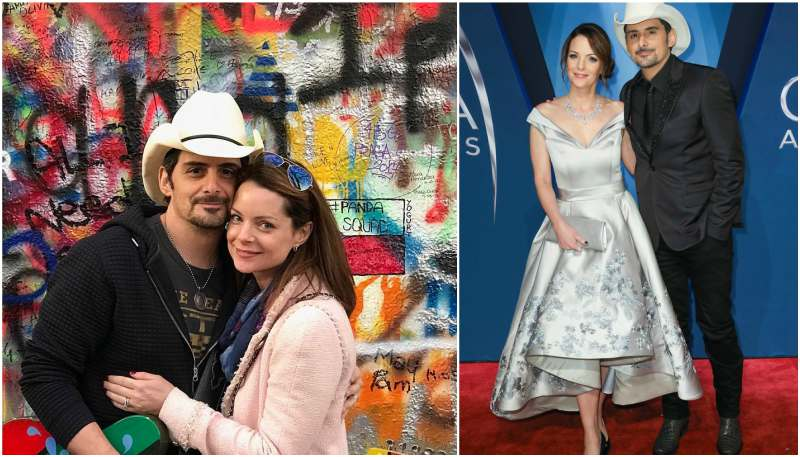 Brad Paisley's family - wife Kimberly Williams-Paisley