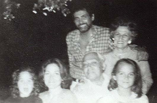 David Hedison's family - father Albert Hedison Sr.