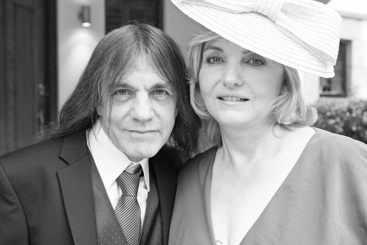 Malcolm Young's family - wife O'linda Young