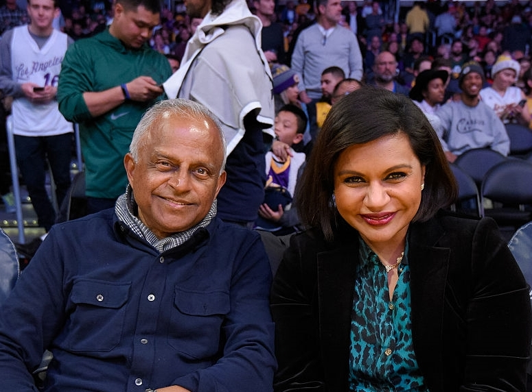 Mindy Kaling's family - father Avu Chokalingam
