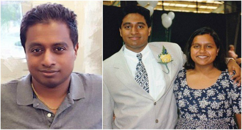 Mindy Kaling's siblings - brother Vijay Chokal-Ingam