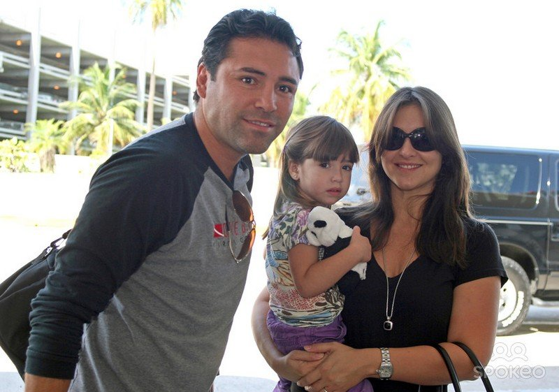 Oscar De La Hoya's children - daughter Nina Lauren Nenitte De La Hoya