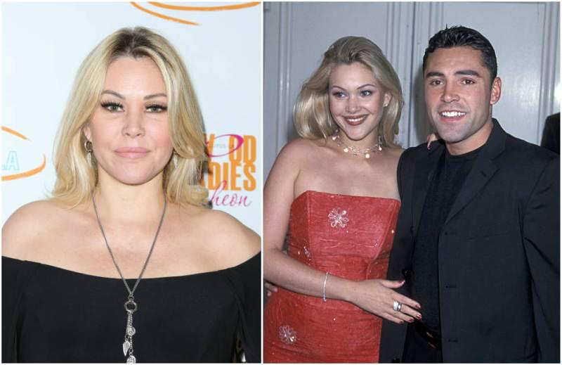 Oscar De La Hoya's family - ex-partner Shanna Lynn Moakler
