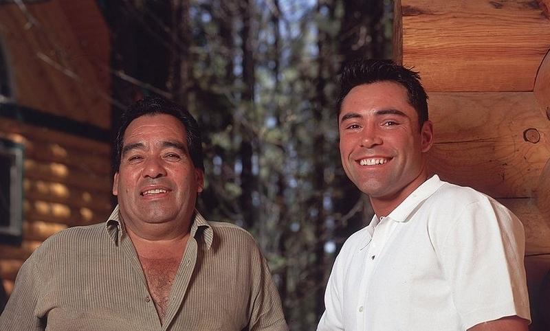 Oscar De La Hoya's family - father Joel De La Hoya Sr.