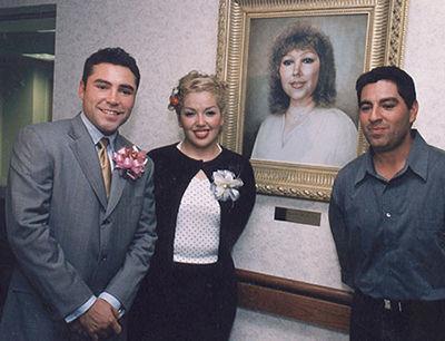 Oscar De La Hoya's family - mother Cecelia De La Hoya