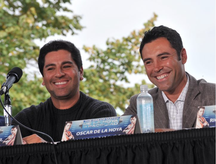 Oscar De La Hoya's siblings - brother Joel De La Hoya Jr.