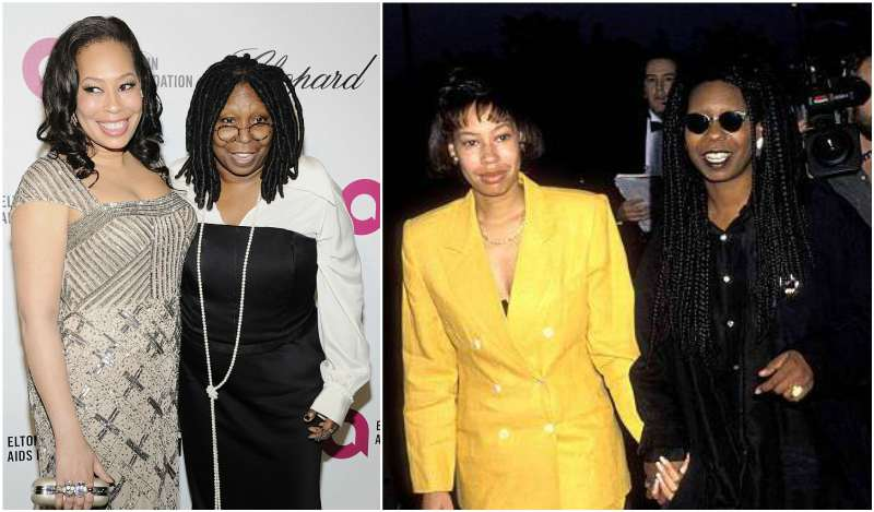 Whoopi Goldberg's children - daughter Alex Martin-Dean