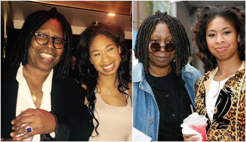Whoopi Goldberg's grandchildren - granddaughter Amarah Skye